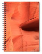 Sandstone  Ledges And Swirls Spiral Notebook