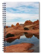 Sandstone Reflections 2 Spiral Notebook