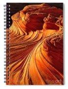 Sandstone Silhouette Spiral Notebook