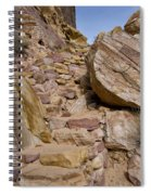 Sandstone Steps Spiral Notebook