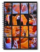 Sandstone Sunsongs Shuffle Assemblage Spiral Notebook