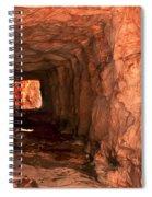 Sandstone Tunnel Spiral Notebook