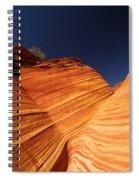 Sandstone Waves Spiral Notebook