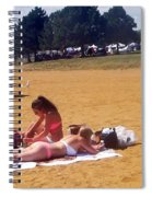 Sandy Beach Spiral Notebook