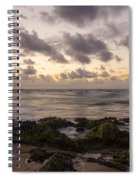 Sandy Beach Sunrise 10 - Oahu Hawaii Spiral Notebook