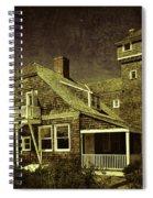 Sandy Hook Beach Home Spiral Notebook