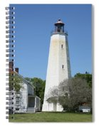 Sandy Hook Lighthouse IIi - N  J Spiral Notebook
