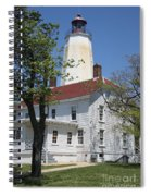Sandy Hook Lighthouse Iv Spiral Notebook