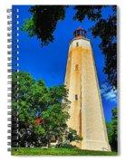 The Sandy Hook Lighthouse Spiral Notebook
