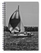 Sandy Hook Sailing II Spiral Notebook