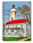 Sandy Hook Spring Spiral Notebook