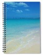 Sandy Shoreline  Spiral Notebook