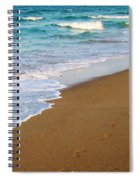 Sandy Toes Spiral Notebook