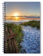Sandy Trail Spiral Notebook