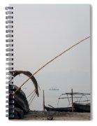 Sangam Boats Spiral Notebook