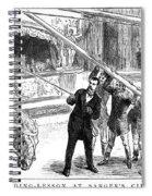 Sanger's Circus, 1884 Spiral Notebook