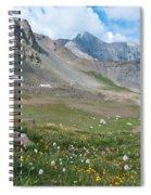 Sangre De Cristos Meadow And Mountains Spiral Notebook