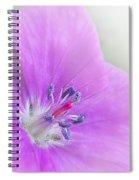 Geranium Sanguinium Bloody Cranesbill Spiral Notebook