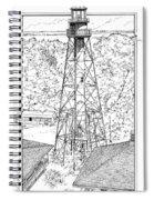 Sanibel Island Light Spiral Notebook