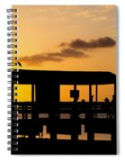 Sanibel Island Sunset Spiral Notebook