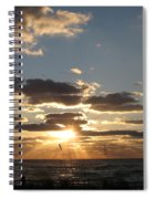 Sanibel Sunset Spiral Notebook