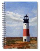 Sankaty Head Lighthouse Nantucket Massachusetts Spiral Notebook