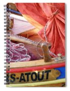 Sans Atout Or No Trump Spiral Notebook