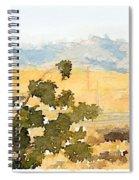 Santa Ana View Spiral Notebook