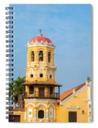 Santa Barbara Church Spiral Notebook