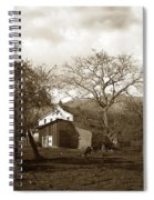 Santa Barbara Mission California Circa 1890 Spiral Notebook