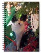 Santa Bring Tuna Spiral Notebook