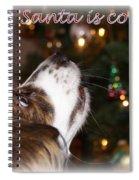 Santa - Christmas - Pet Spiral Notebook