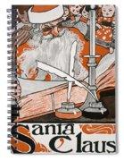 Santa Claus Spiral Notebook