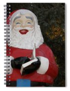 Santa Clause Spiral Notebook