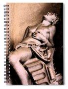 Santa Croche Sculpture Spiral Notebook