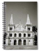 Santa Cruz Basilica In Cochin Spiral Notebook