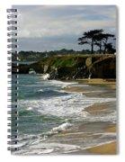 Santa Cruz Beach Spiral Notebook