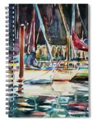 Santa Cruz Dock Spiral Notebook