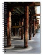 Santa Cruz Pier California Spiral Notebook