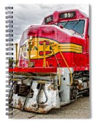 Santa Fe 95 In Retirement Spiral Notebook