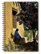Santa Fe Afternoon - New Mexico Spiral Notebook