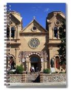 Santa Fe - Basilica Of St. Francis Of Assisi Spiral Notebook