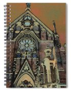 Santa Fe Cathedral Spiral Notebook