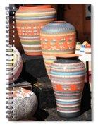 Santa Fe Pottery Spiral Notebook