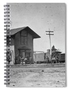 Santa Fe Railway, 1883 Spiral Notebook