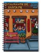 Santa Fe Restaurant Spiral Notebook