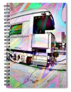 Santa Fe Train Number 37 Spiral Notebook