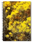 Santa Fe Yellow Spiral Notebook
