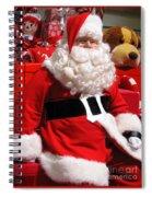 Santa Is Ready Spiral Notebook