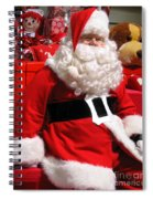 Santa Is Ready Spiral Notebook